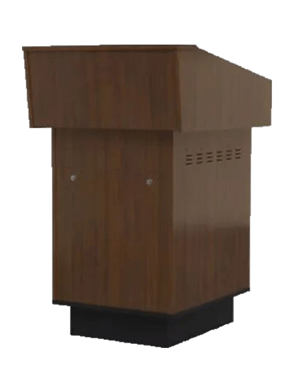 Single Bay Lecterns Audience-Side