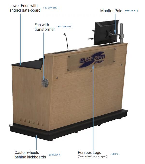 BGL-M03 Options Lecturer Side