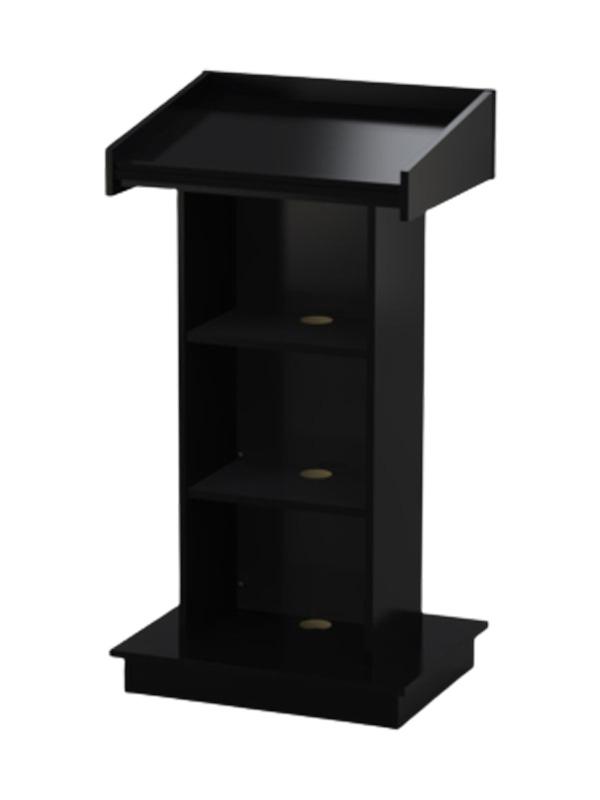 Built from Black melamine board