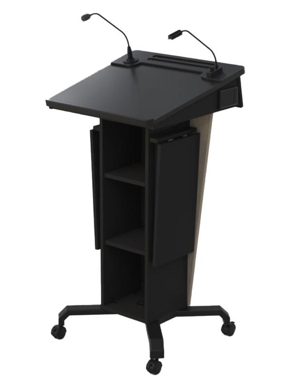 Castors-Ext Shelves Lowered