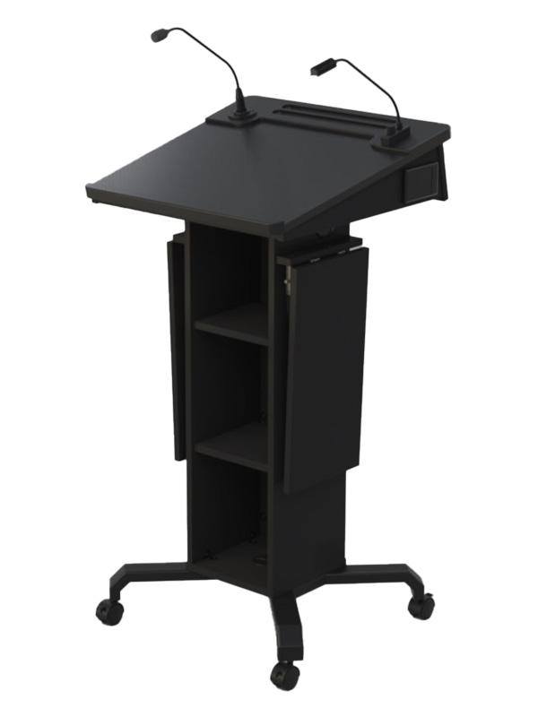 Castors-Ext Shelves Down