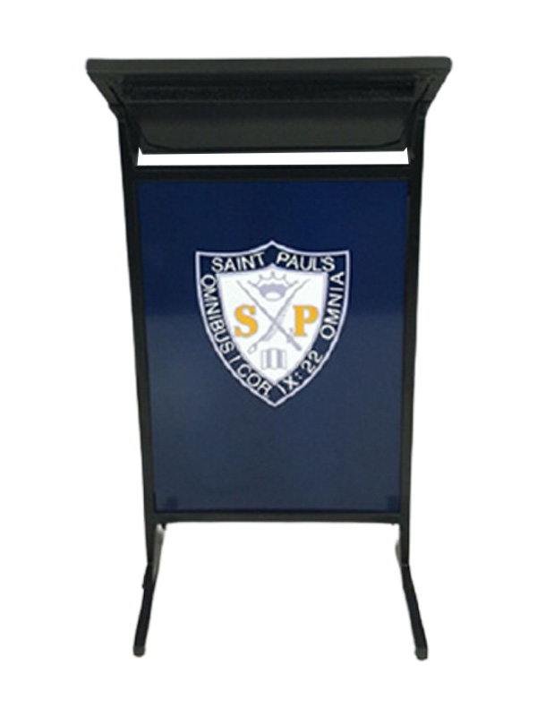 AL200S Diplomat Conference Lectern with logo