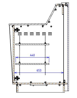Single Bay - Flat work surface