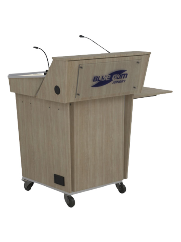 C-Series Single Bay Lecterns Front view