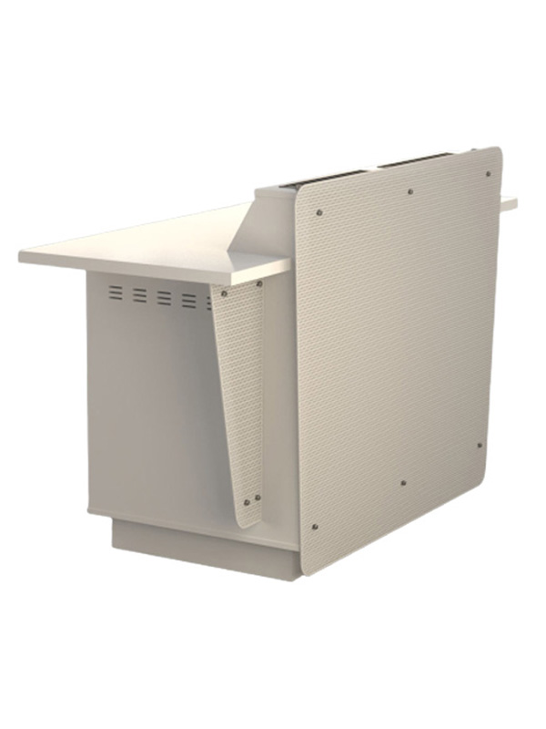 Double bay lectern