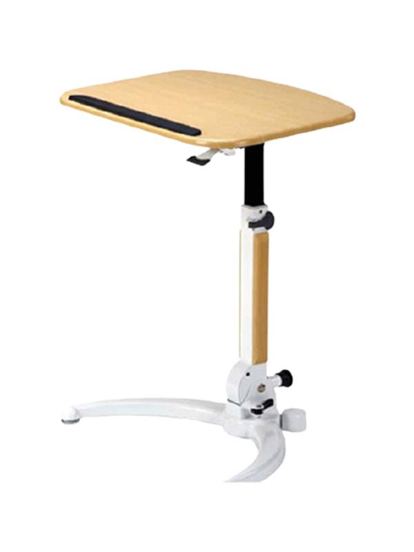 Elegant height adjustable lectern or laptop stand