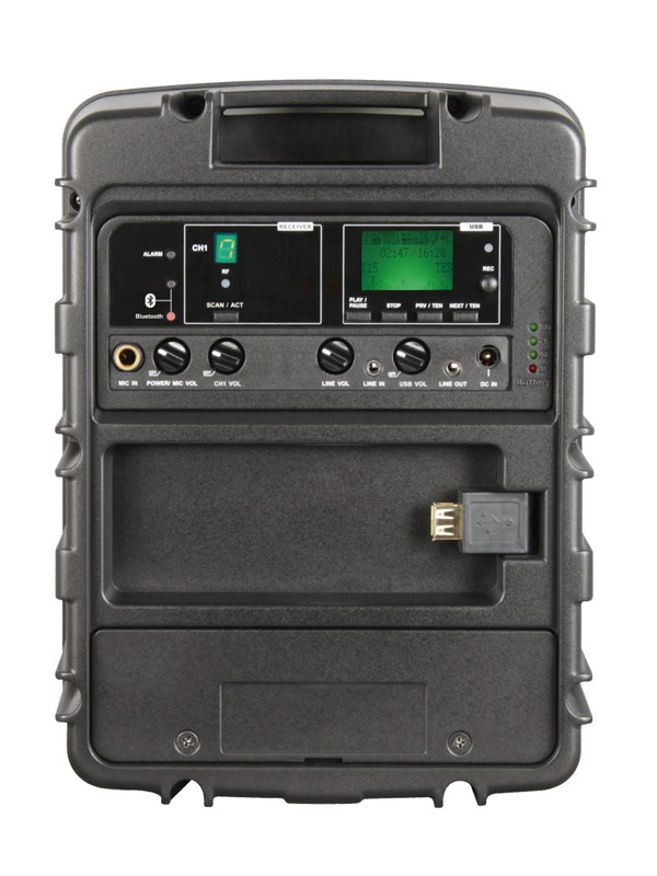  One-touch Scan & ACT sync button for fast and easy channel set-up.