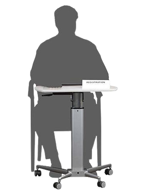Portable Lectern Desk Height Adjustable