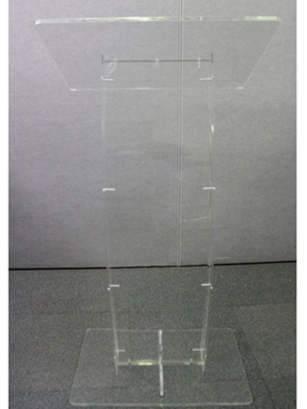 Preacher Clear Acrylic Lectern Clear Acrylic