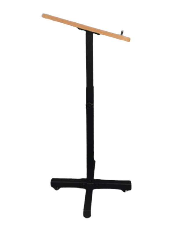 AL20 Student Lectern is smart, functional and portable side view