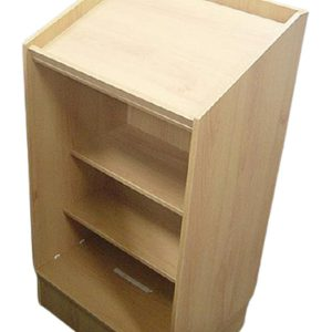 Conventional wooden style lectern