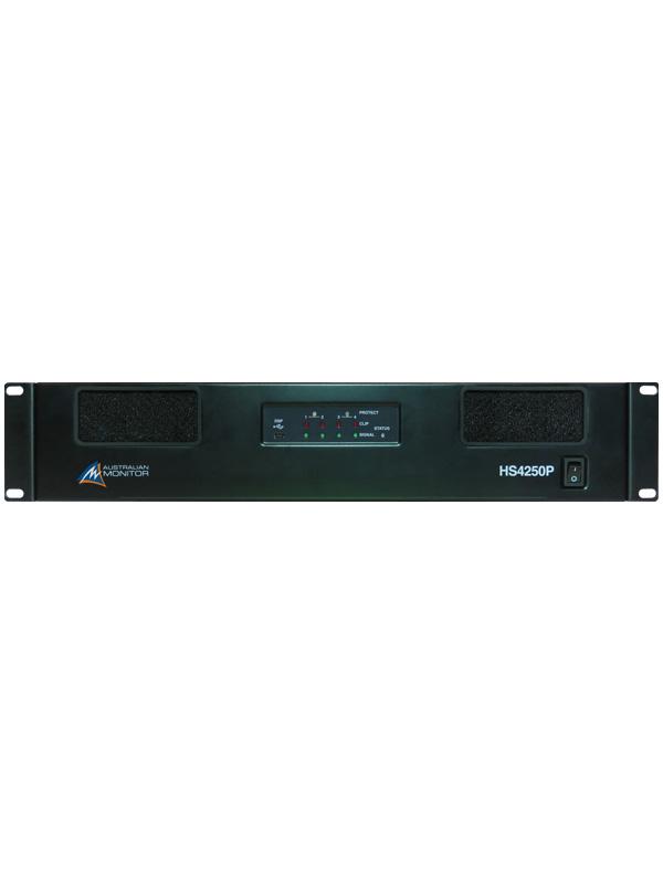 4 x 250W power amplifier