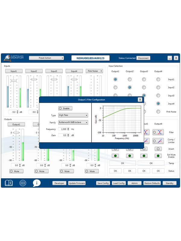 Mini DSP - Volumes Controls