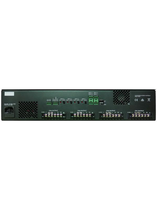 70V and 100V output options