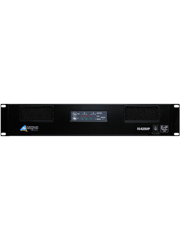 IS4250P 4 x 250W Power Amplifier with Ethernet Control
