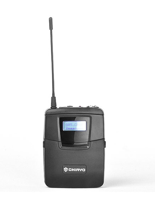 Bodypack Transmitter Digital 2.4GHz Auto channel sync. LCD display