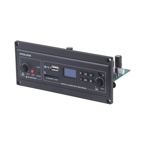 MP3 Recorder + Bluetooth Receiver Module