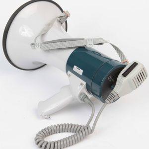Megaphone With Shoulder Strap