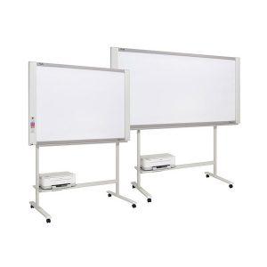 Two screen COLOUR electronic copyboard