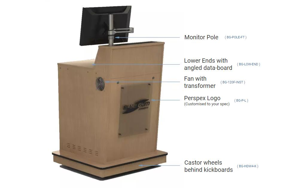 A-Series Single Bay Lectern Best Options