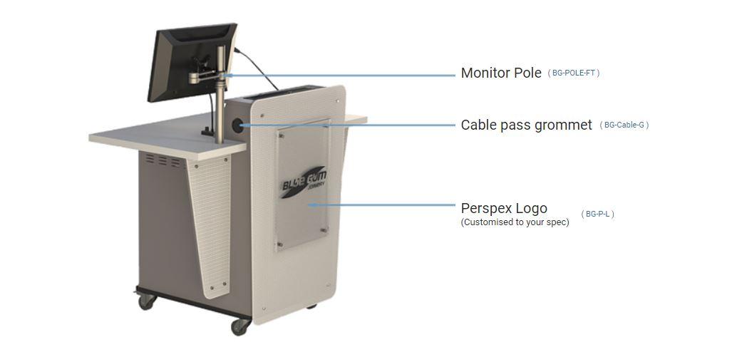 G-Series Single bay lectern options