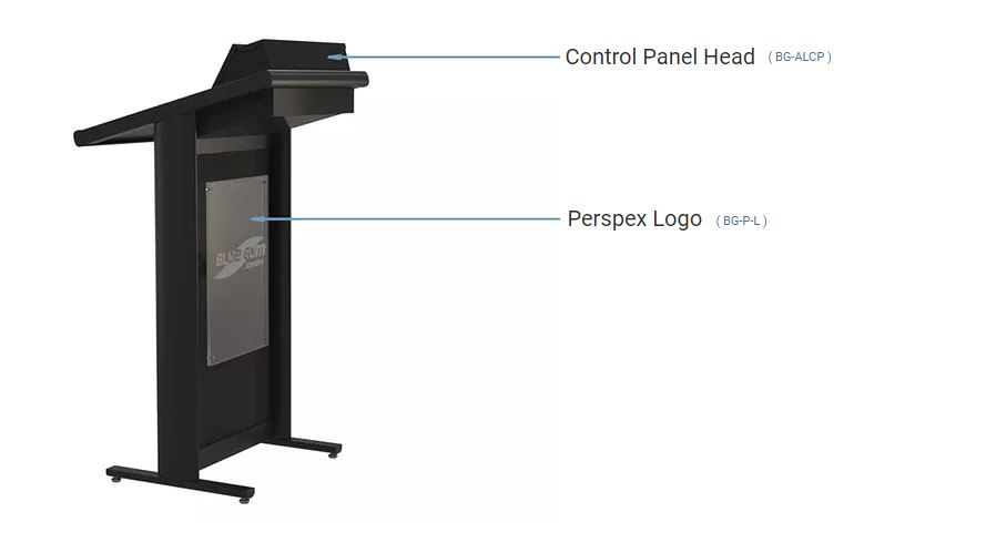 Popular Options available to order with your Aluminium Lecturer lectern.