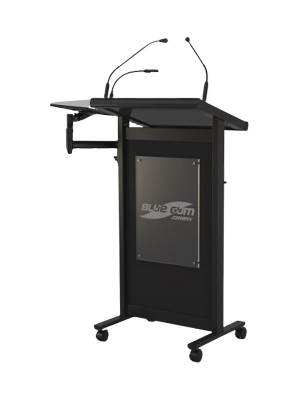 Black powder coat shown with various available options